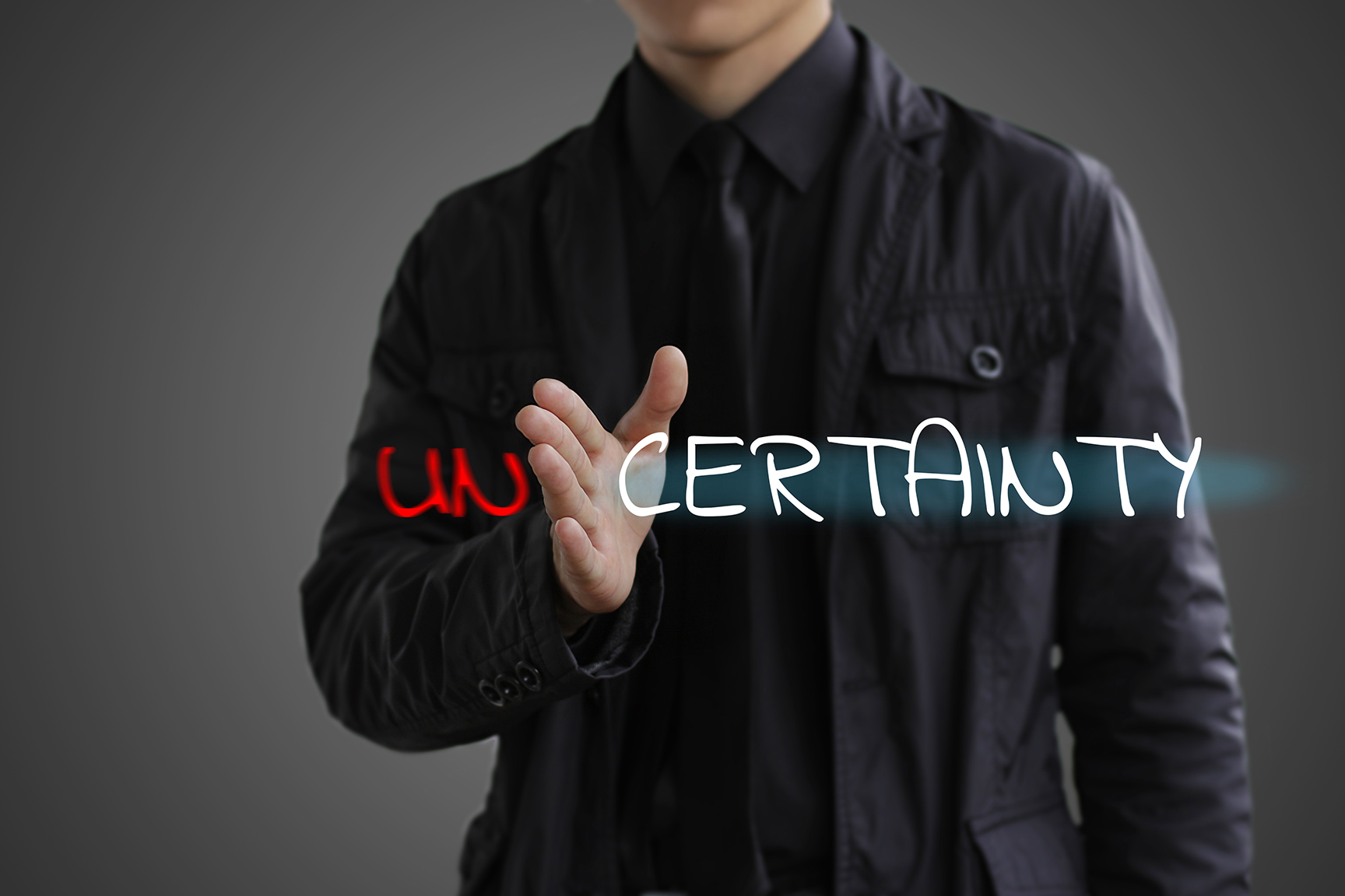 Certainty v Uncertainty